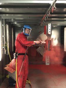What is metal powder coating