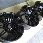 Alloy Wheel Powder Coating